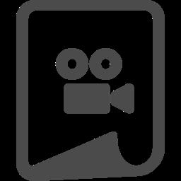 動画ファイルアイコン 8